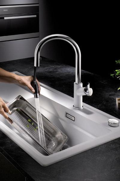 blanco carena s vario kitchen faucet. Black Bedroom Furniture Sets. Home Design Ideas