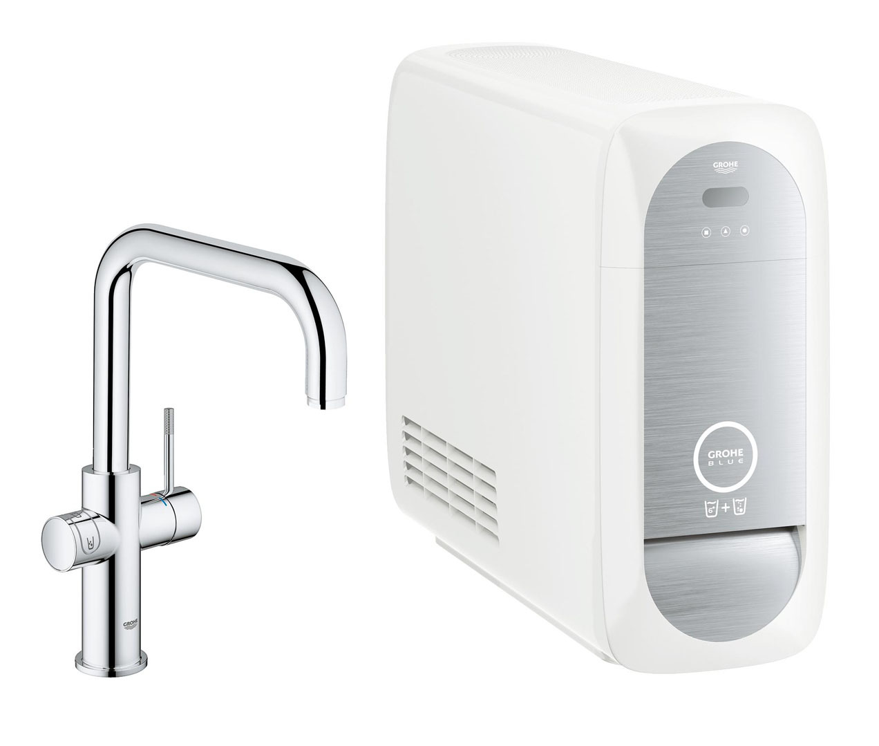 grohe blue home 31456000 kitchen faucet. Black Bedroom Furniture Sets. Home Design Ideas