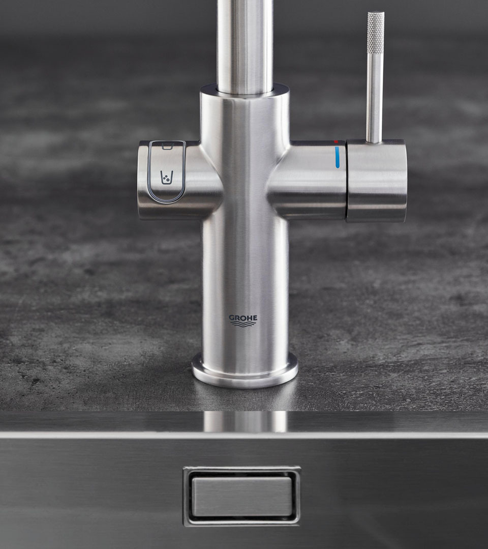 grohe blue home 31456000 kitchen faucet. Black Bedroom Furniture Sets. Home Design Ideas