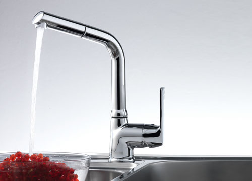 Franke Zodiaco Doccia chrome - Kitchen Faucet