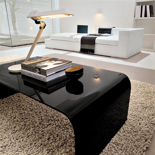 Tonin casa anemone 6850 coffee table for Table 60x60 design