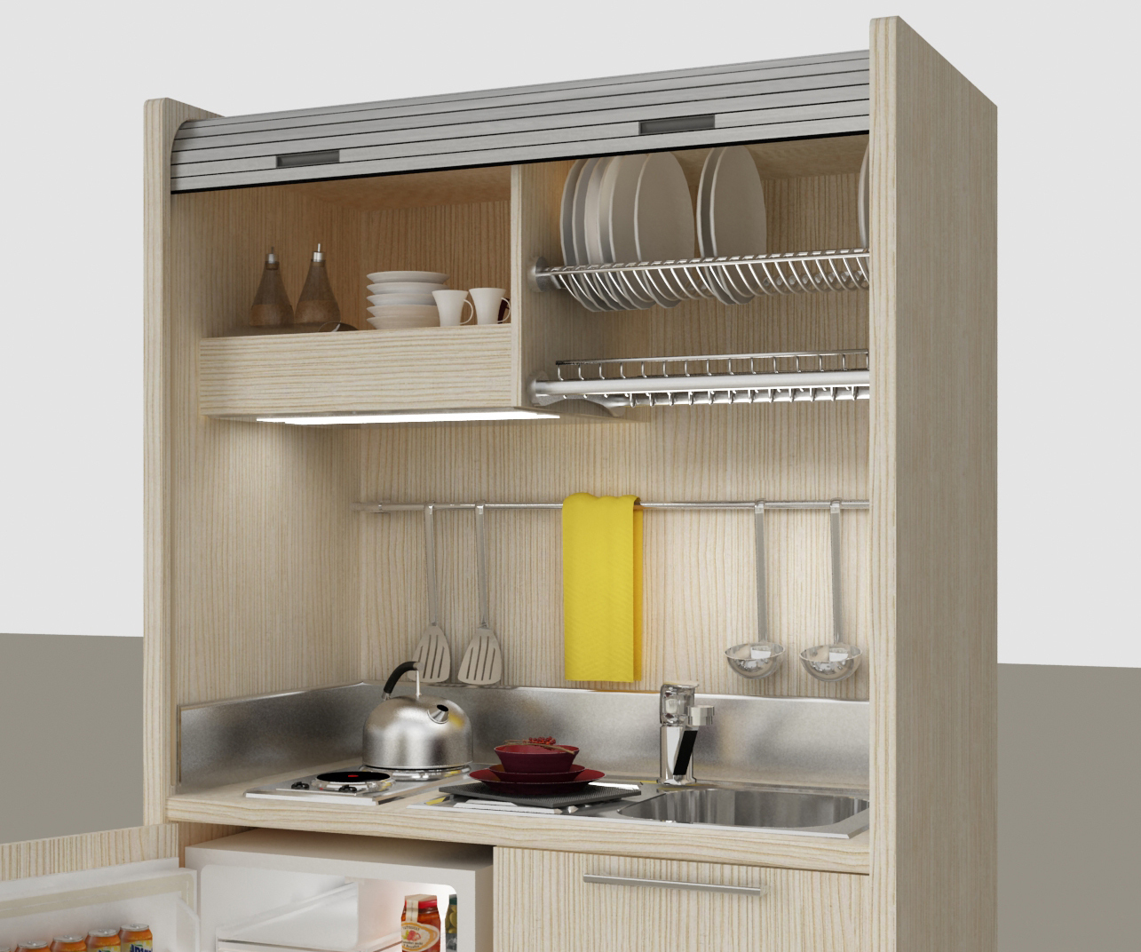 Stunning Mini Cucine Monoblocco Photos - Home Design - joygree.info