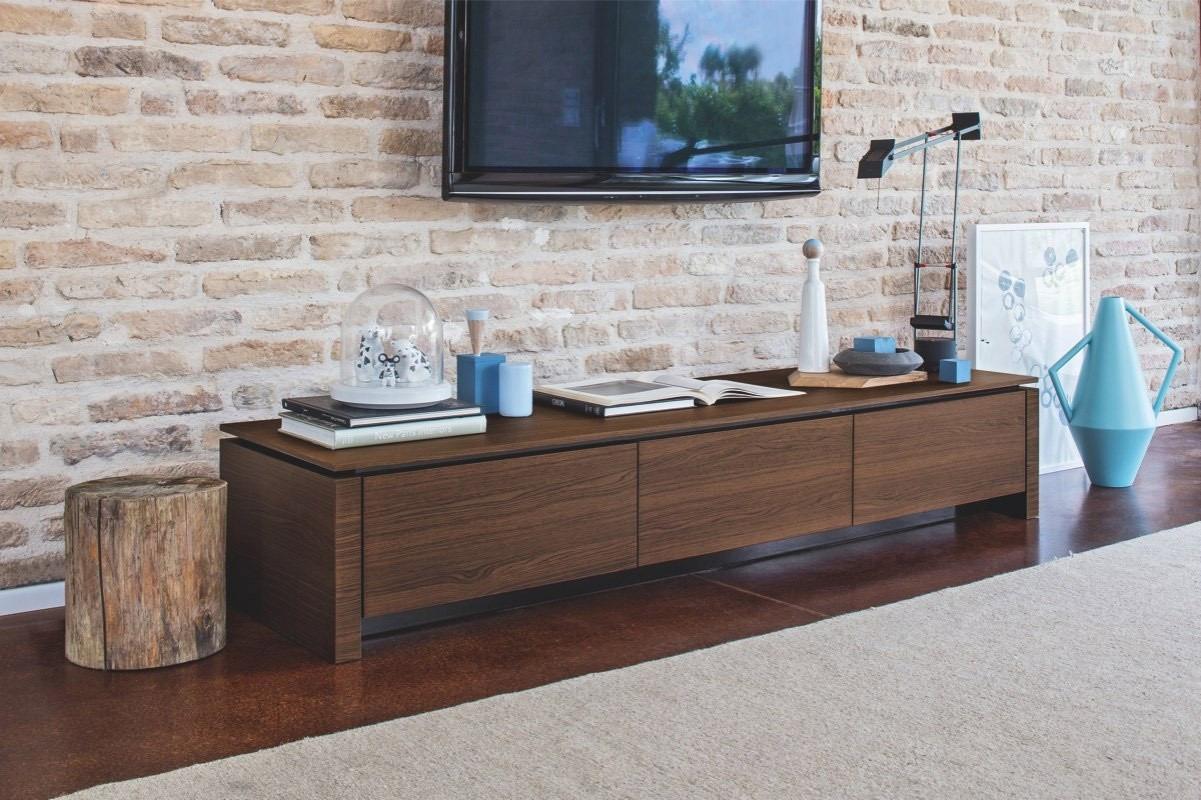 Calligaris Mobili Porta Tv.Connubia Calligaris Mag Wood Cb 6029 3r L Cabinet