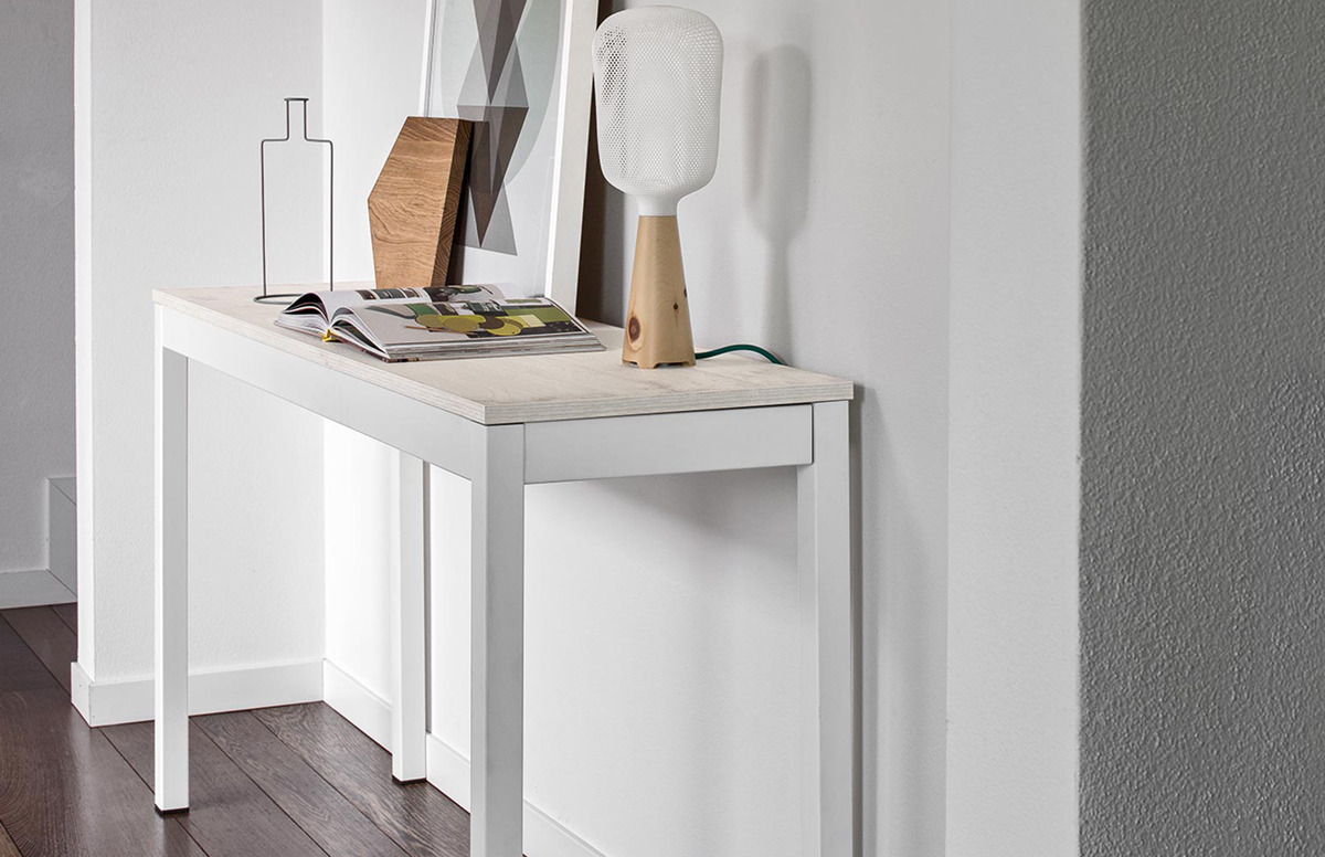 Connubia calligaris snap consolle cb 4085 ml 40 console for Calligaris consolle