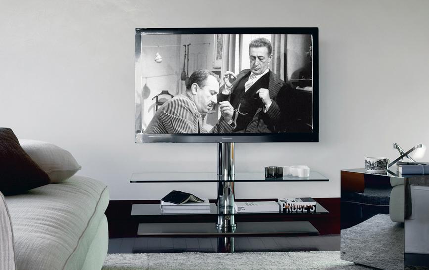 Cattelan italia vision tv stand for Mural vision tv