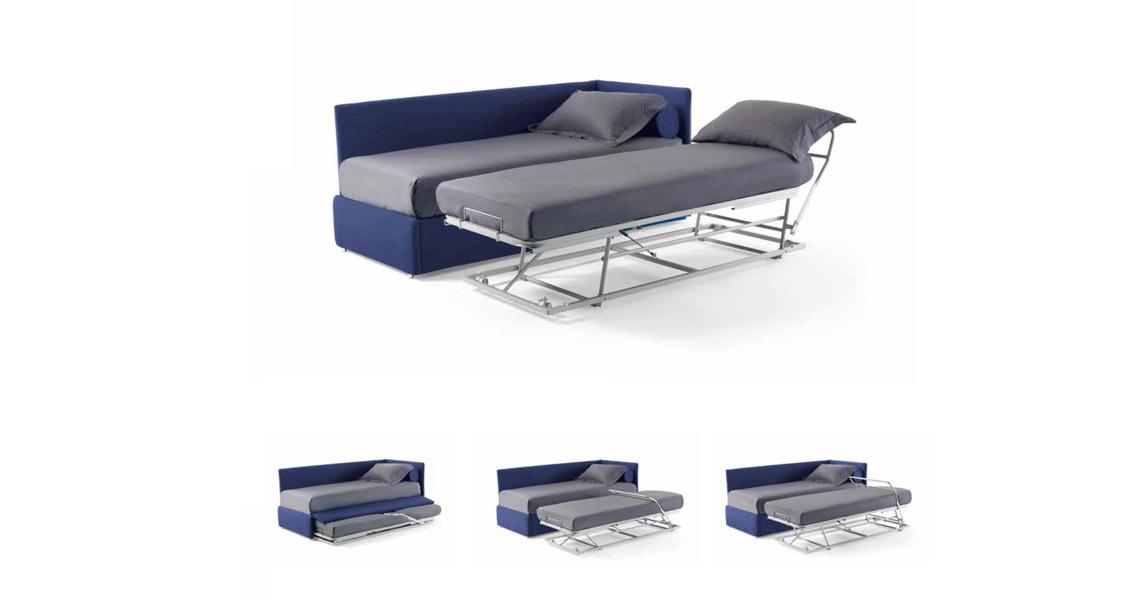 bontempi duplo sommier single bed. Black Bedroom Furniture Sets. Home Design Ideas