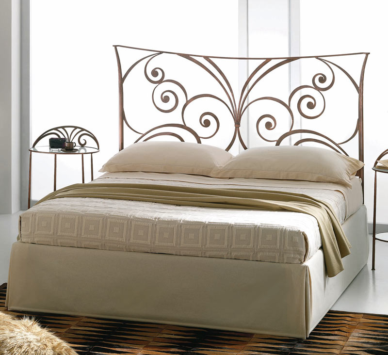 Target Point bed Fiordaliso with bed frame without footboard ...