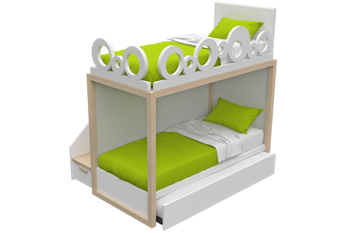 Dearkids Boxer Small Jolly Bed