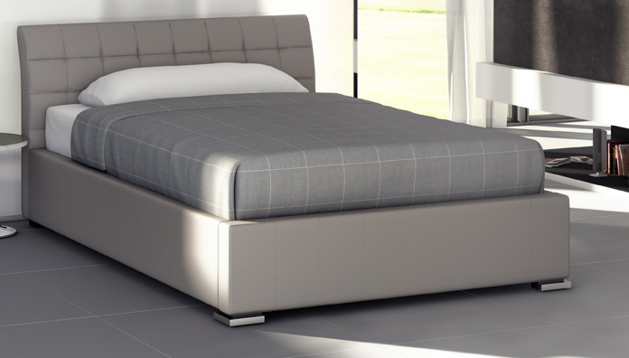 target point bed chamonix semi double three quarter bed. Black Bedroom Furniture Sets. Home Design Ideas