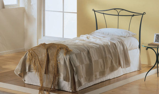 Target point bed ibisco single with bed frame without for Single bed frame without headboard