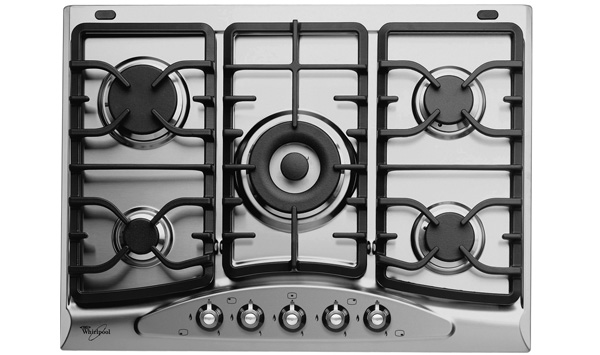 portable how to clean gas cooktop burners
