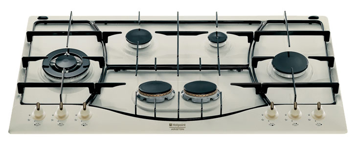 hotpoint ariston ph 960 mst ow r ha gas hob. Black Bedroom Furniture Sets. Home Design Ideas