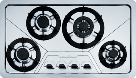 Franke Design Plus DP 3GAV-TC-FM - Gas hob