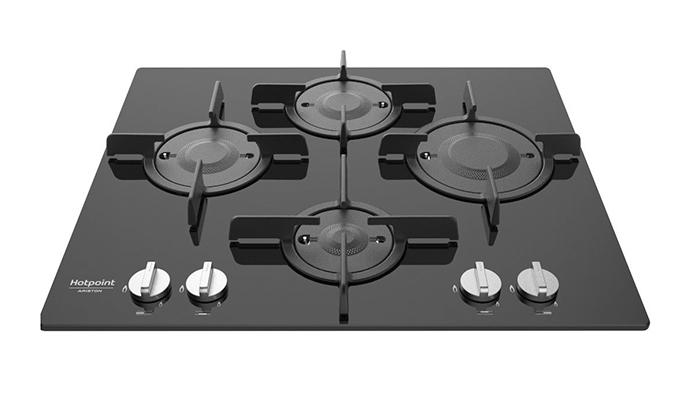 hotpoint ariston ftghg 641 d ha bk gas hob. Black Bedroom Furniture Sets. Home Design Ideas