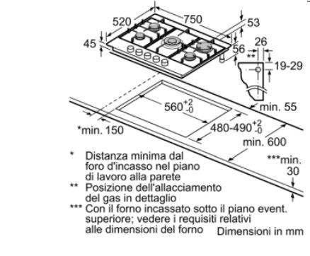 Argent/é Plateau M/étal//Verre//Plastique//Inox TKG OT 1012 CR S 110-250/°C Grille et Broche Rotative avec Pince 1500 W Team Kalorik Four 26 Litres