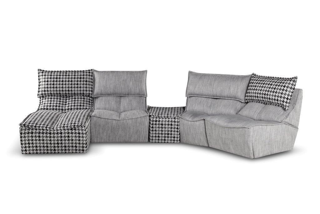 calia italia hip hop pied de poule comp pag112 113 400 t71 130 sofa. Black Bedroom Furniture Sets. Home Design Ideas