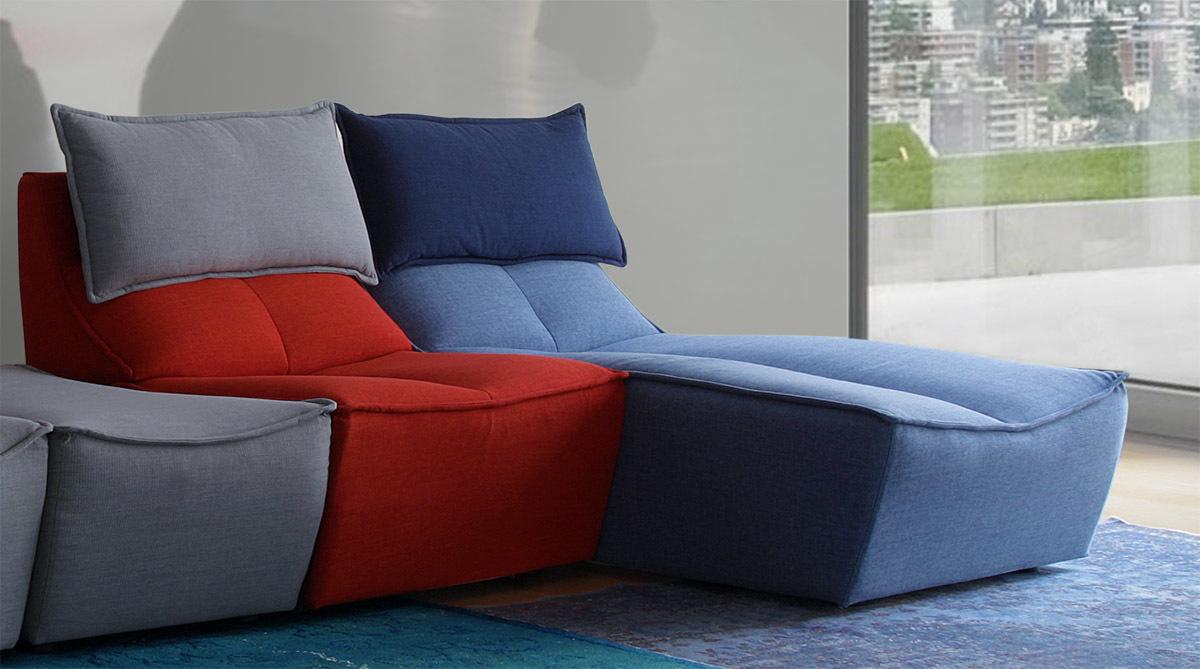 Calia Italia Hip Hop Multicolor - Sofa