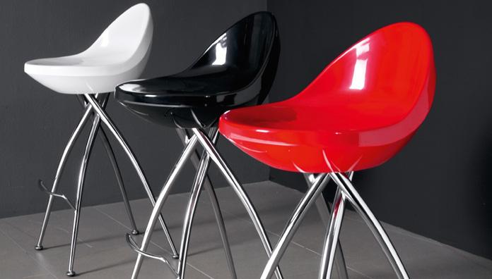 Eurosedia sgabello poldo stool