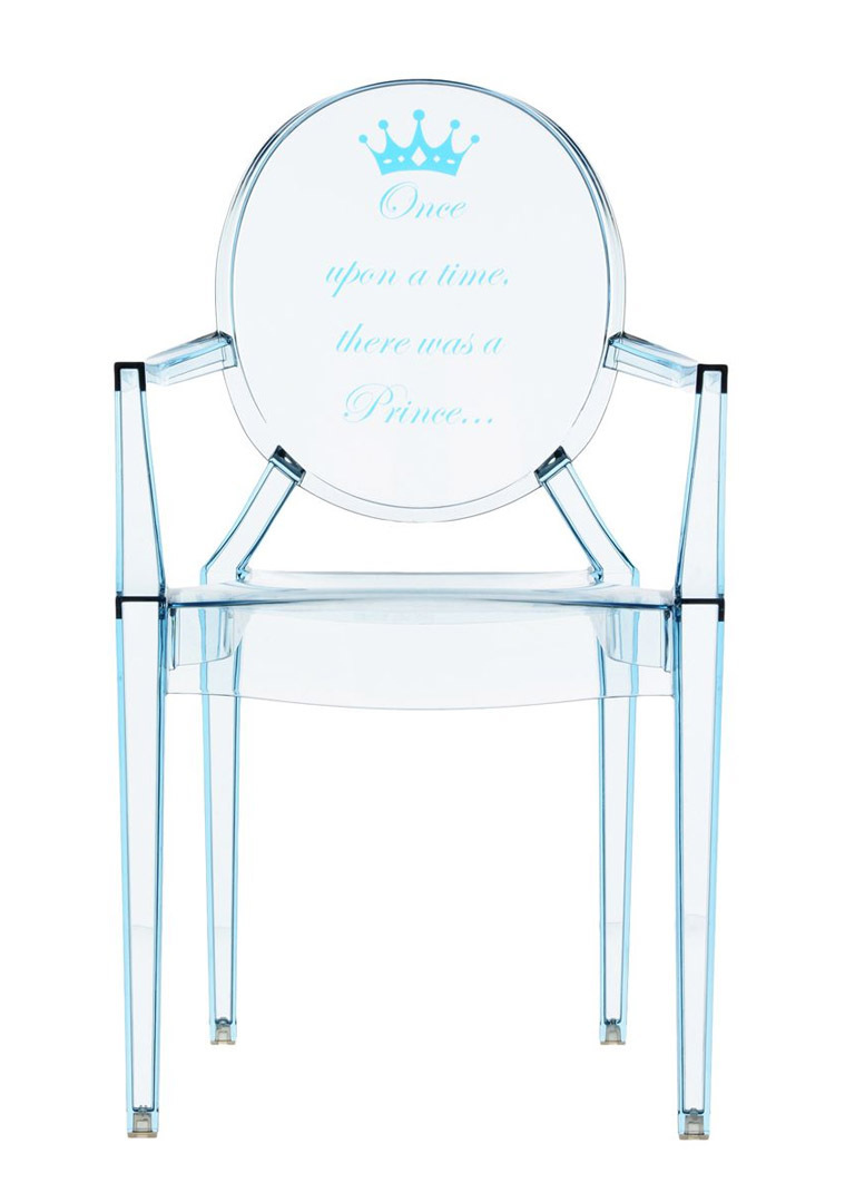 Kartell Lou-Lou Ghost 2855 - Special Edition - Expo - Kids chair