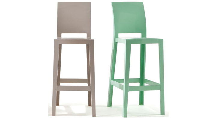 Sgabello ghost kartell new posts masters kartell stone stool by