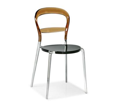 Connubia calligaris wien cb 1091 c chair for Sedie plexiglass calligaris