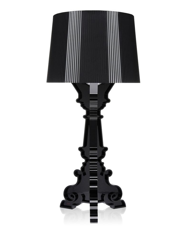 lampada da tavolo kartell bourgie nera 9071q8