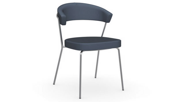 Connubia calligaris new york leather cb 1084 lh chair for Calligaris new york