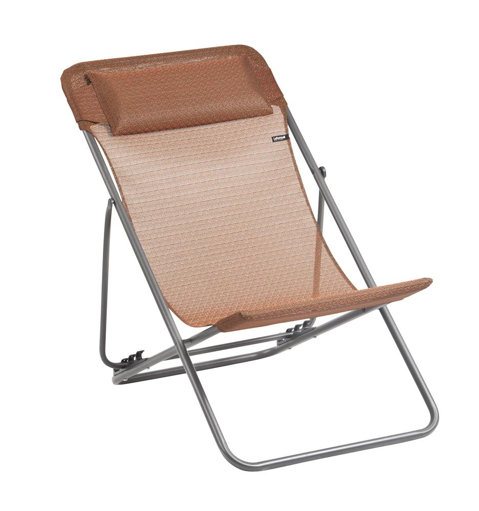 lafuma privilege maxi transat plus deckchair. Black Bedroom Furniture Sets. Home Design Ideas