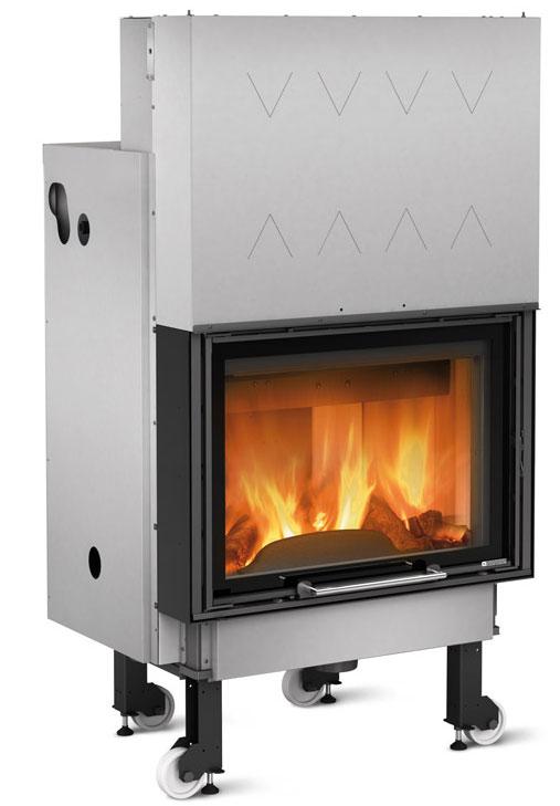 la nordica termocamino wf plus dsa hydro wood fireplace