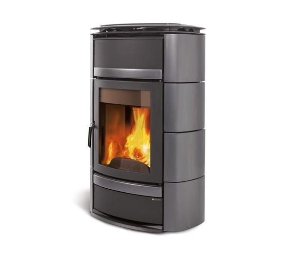 la nordica norma s evo idro dsa titanium wood burning