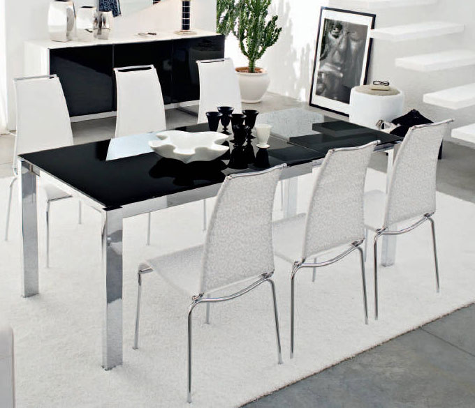 Connubia calligaris baron cb 4010 mv 160 8a table for Calligaris baron table