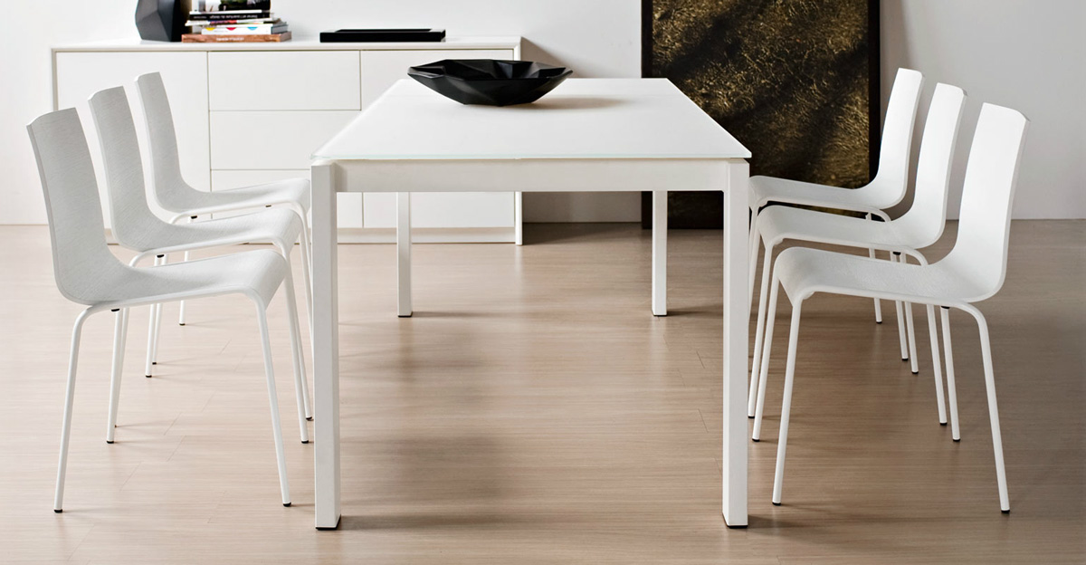 Calligaris baron cs 4010 mv 160 8a table for Calligaris baron table