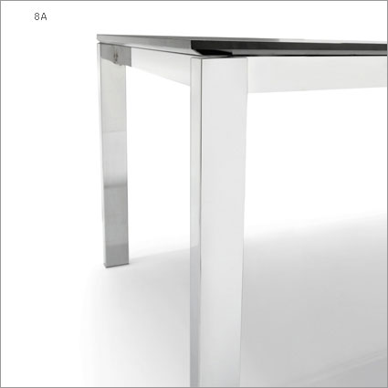 Connubia calligaris baron cb 4010 mv 110 8a table for Table extensible calligaris