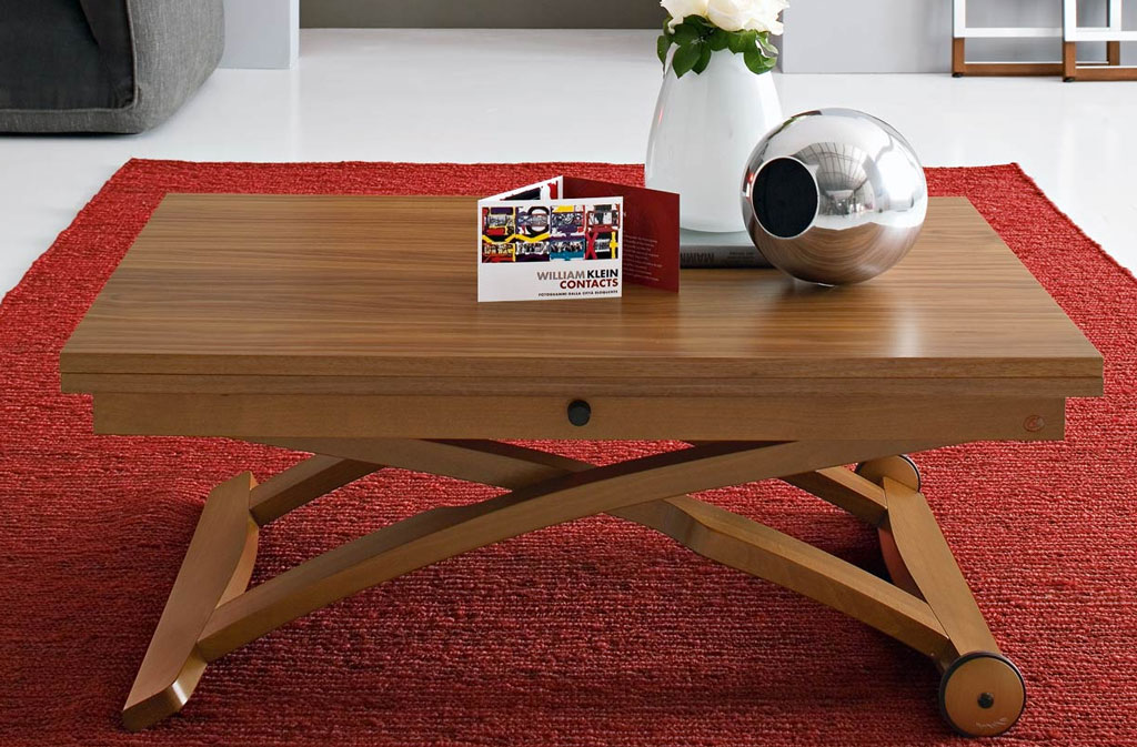 Connubia calligaris mascotte cb 490 coffee table for Table extensible calligaris