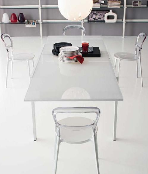 Connubia calligaris key cb 4044 vr table for Calligaris key table