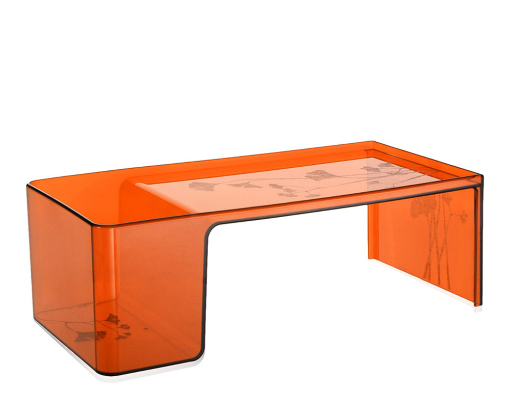Kartell usame 8840 coffee table for Deco kartell