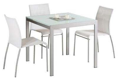 Connubia Calligaris Aladino Vetro 80x80 - Table