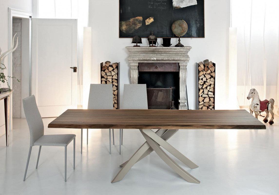 Tavoli Vetro Allungabili Bontempi.Bontempi Artistico Table
