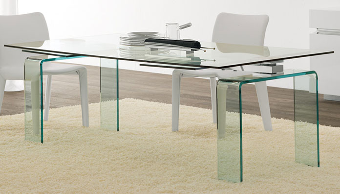 Cattelan italia table extensible azimut 160 azimut 160 for Table 160 extensible