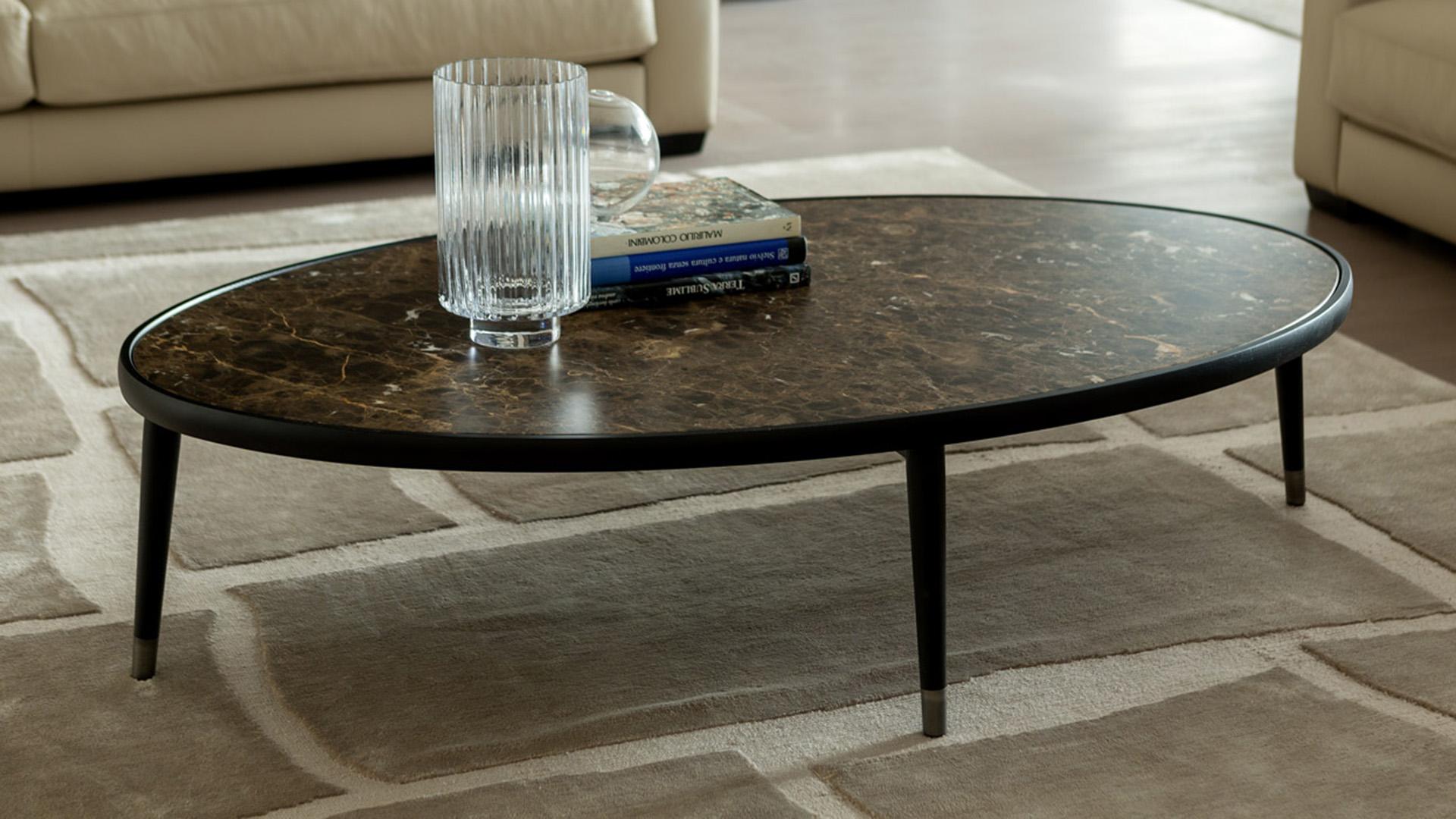 Porada Bign¨ Oval 150 Bigne OVAL 150 Coffee Table