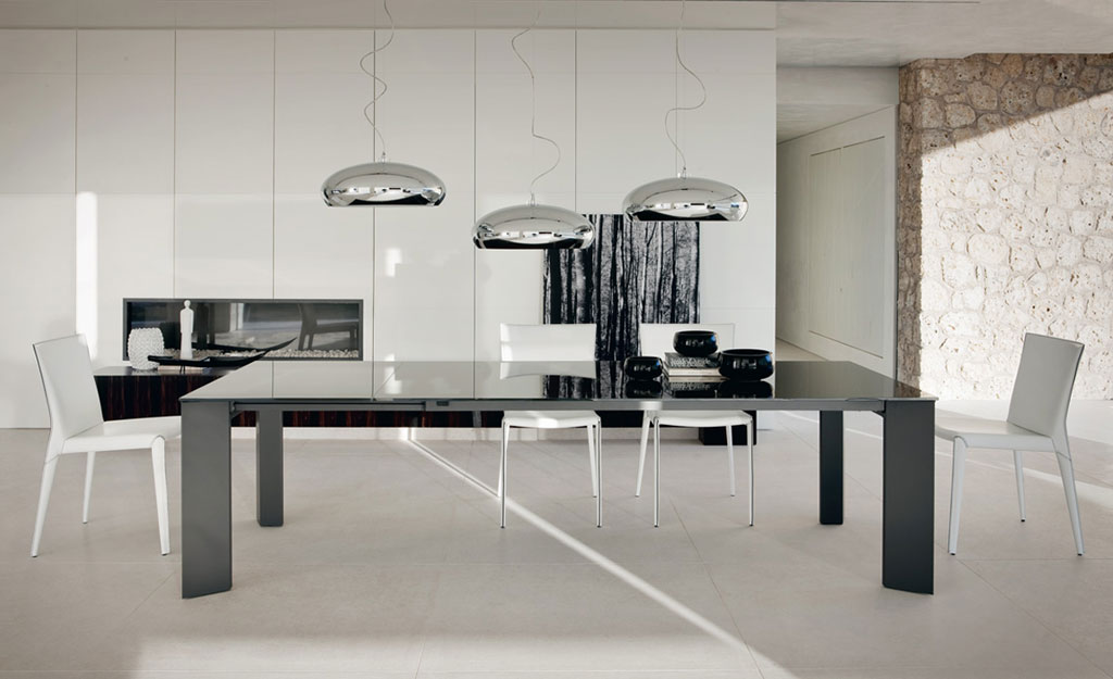 Cattelan italia table extensible brera 160x90 table for Table 90 extensible