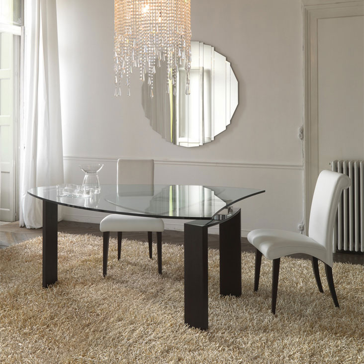 Cattelan italia table extensible daytona 136x130 table for Petite table extensible