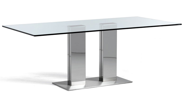 Cattelan italia table fixed elvis big 200x100 table for Table 200x100
