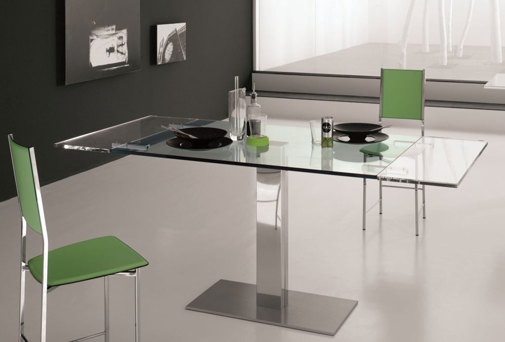Cattelan italia table extensible elvis drive 120 table for Petite table extensible
