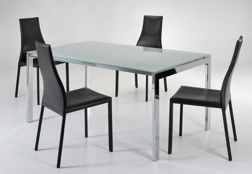Asso design table extensible miami table for Petite table extensible