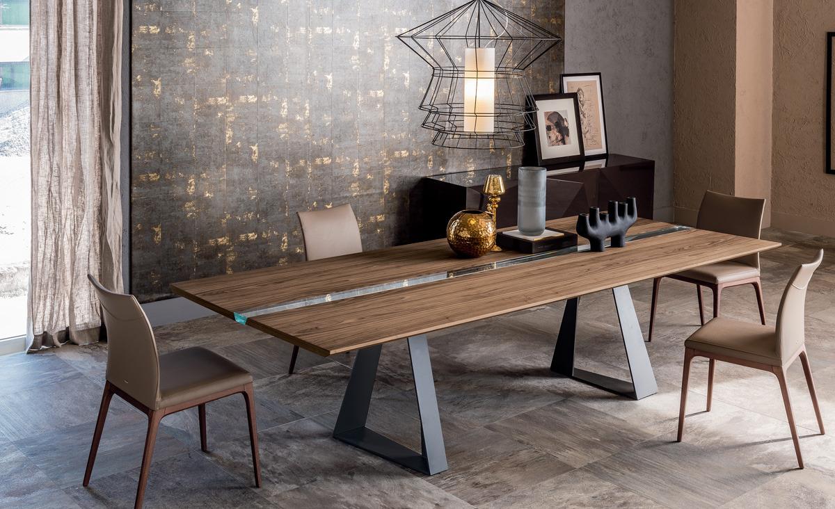 Cattelan italia river table for Cattelan arredamenti