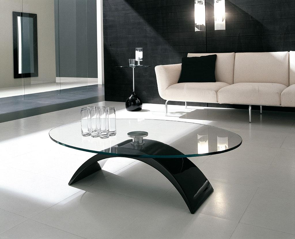 Tonin Casa Coffee Table Ellittico Tudor 6630 Efcv