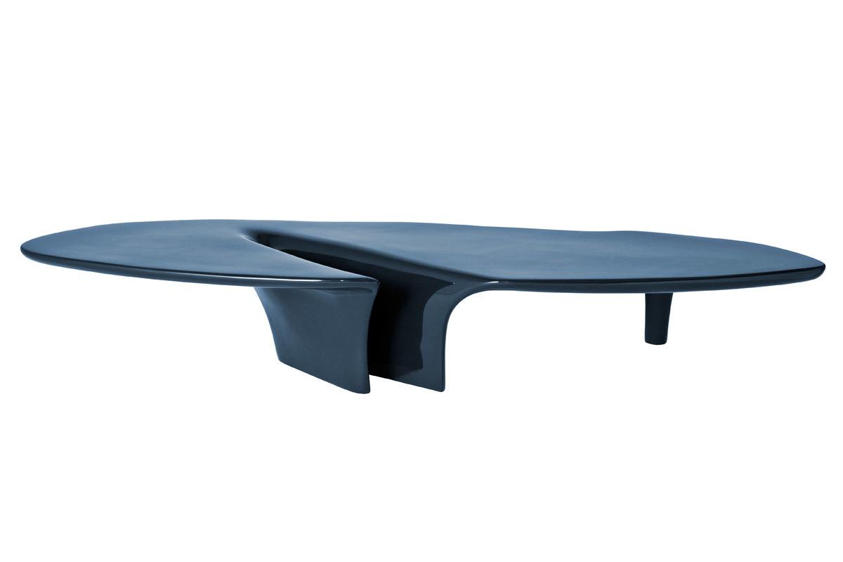 White Waterfall Tables ~ Driade waterfall coffee table