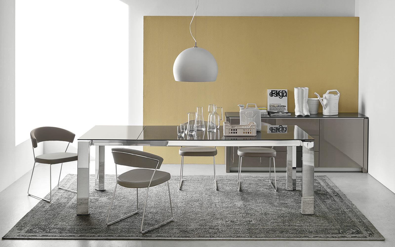 Connubia calligaris gate cb 4088 mv 160 table for Tavolo atelier calligaris
