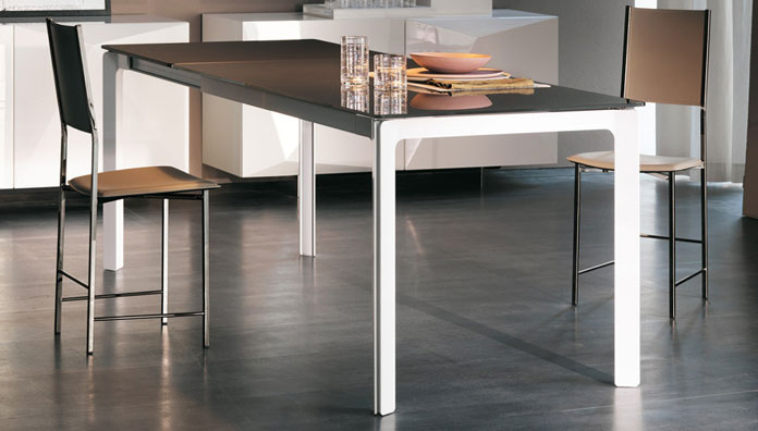 Cattelan italia table extensible zeno 120x80 table for Table 120x80